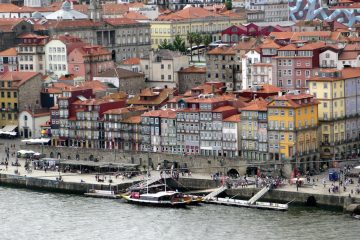 Ribeira riverfront in Porto