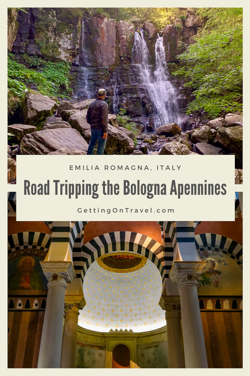 Road Tripping the Bologna Apennines pin