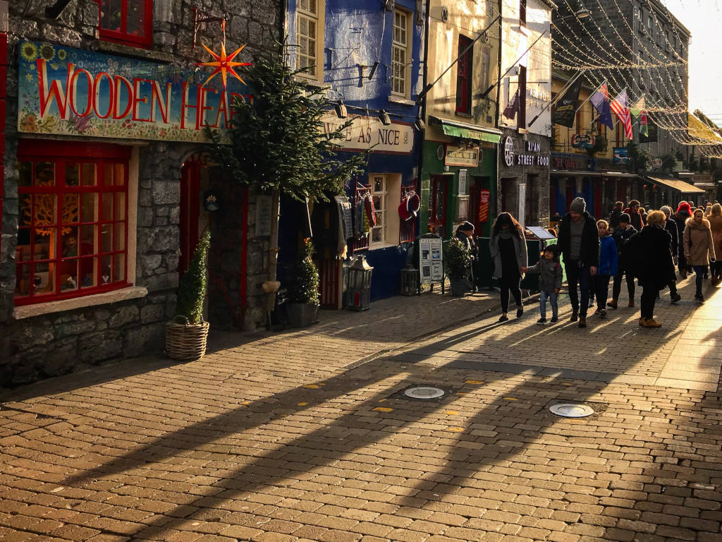 Independent shops and cozy pubs are hallmarks of Jack Taylor's Galway