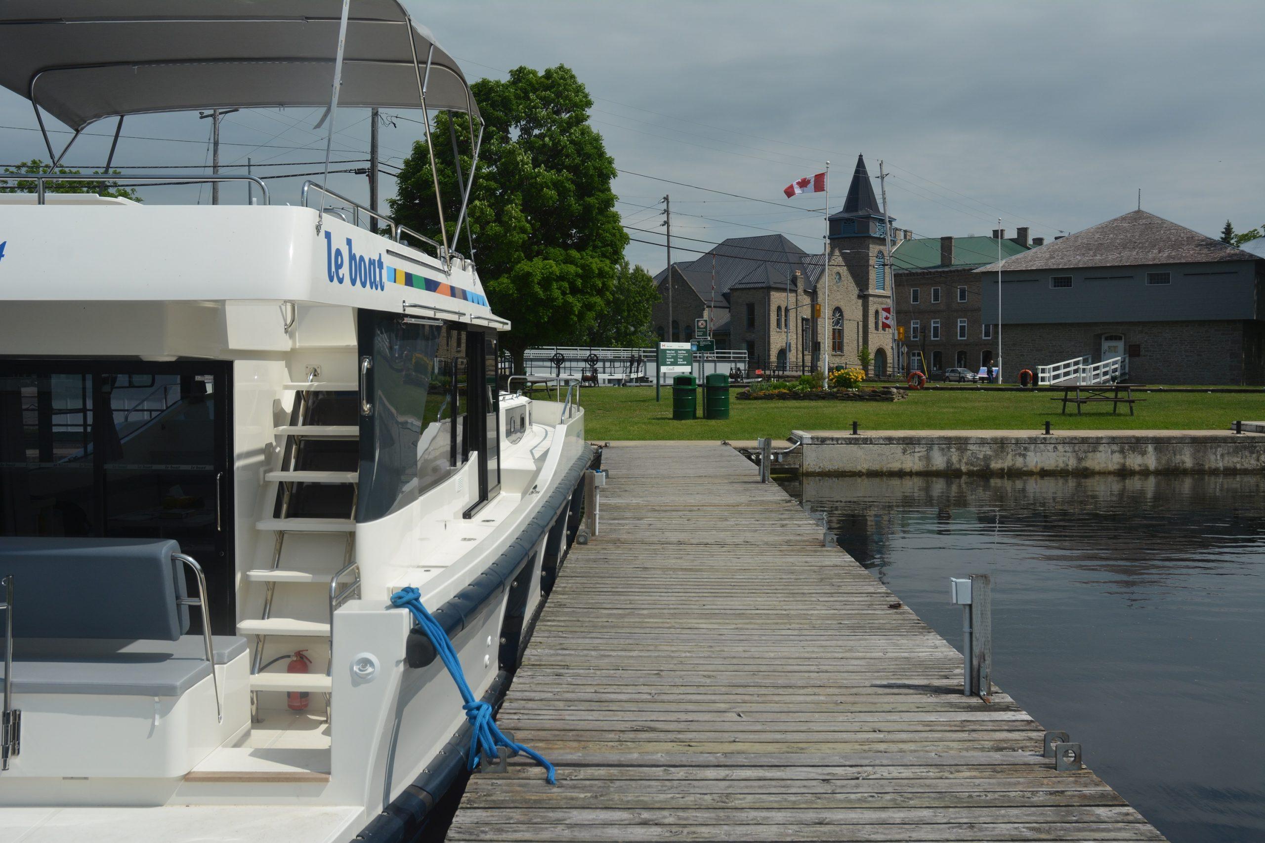 Merrickville, a town along Canada's Rideau Canal