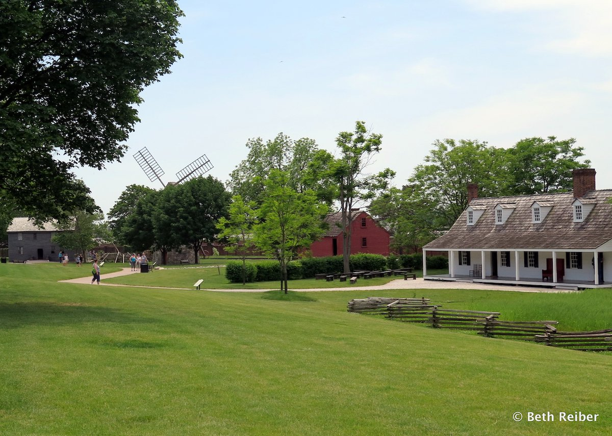 Farmsteads, homes and businesses are spread on 80 acres of Greenfield Village.JPG