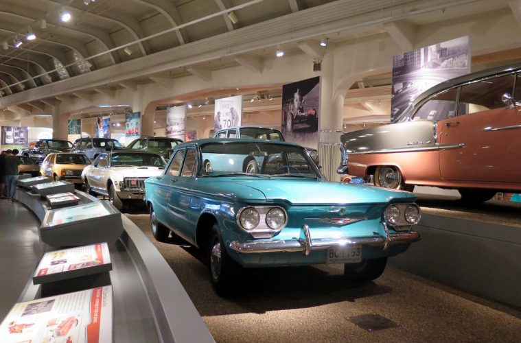 More than 130 automobiles are on the floor of the Henry Ford Museum of American Innovation.JPG