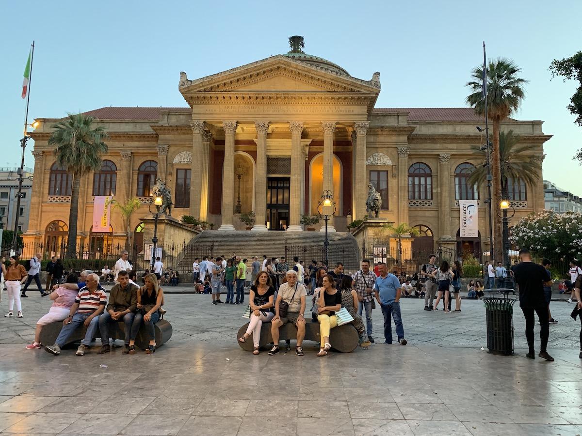 Palermo at Night
