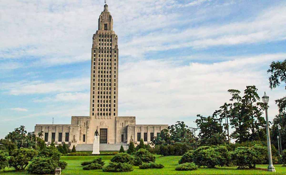 South Louisiana: Baton Rouge State Capitol