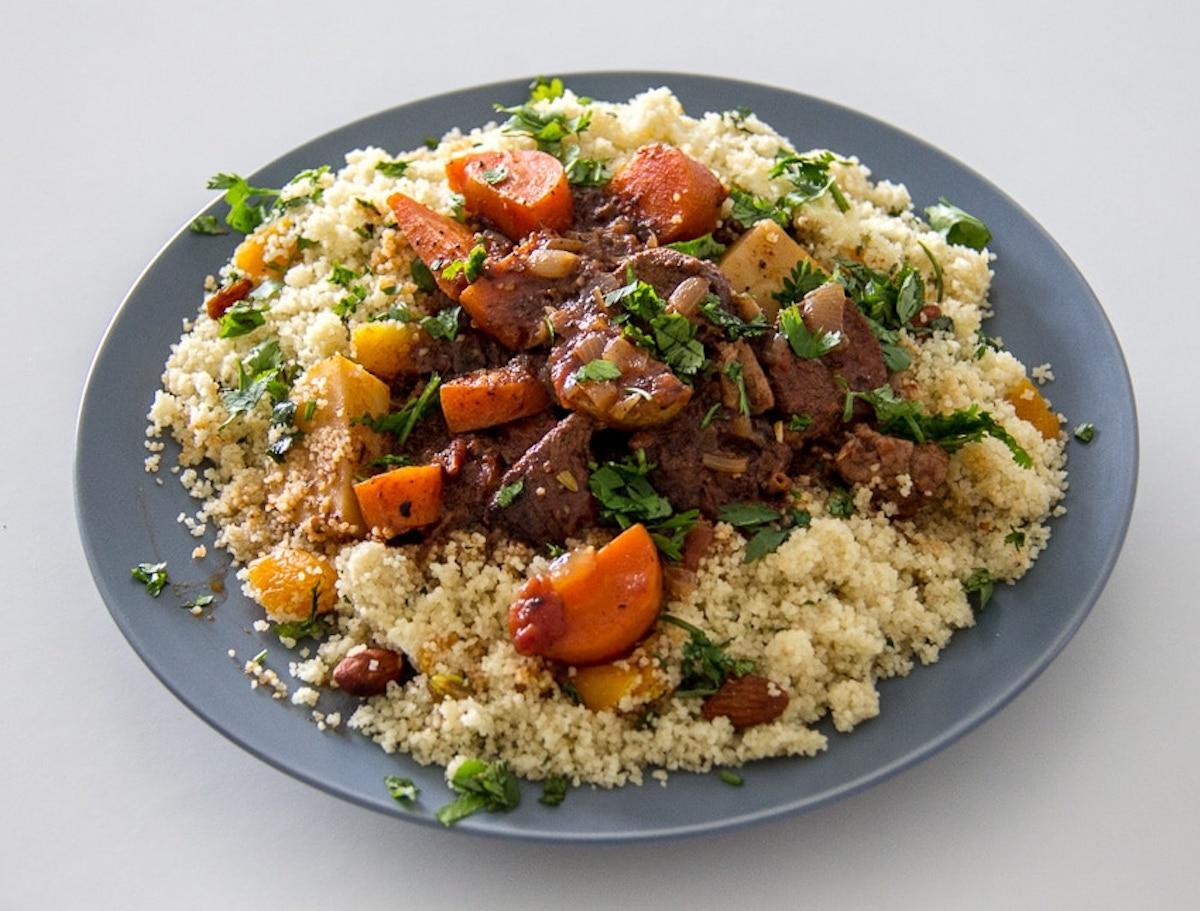 Moroccan Lamb Couscous