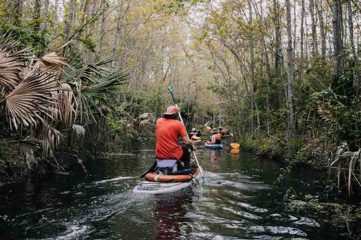 Paddling Louisiana's sacred bayous. Photo by Nathaniel Atakora Martin