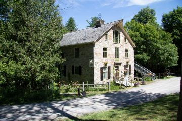 Visit the Mill of Kintail on a road trip from Ottowa, Canada.
