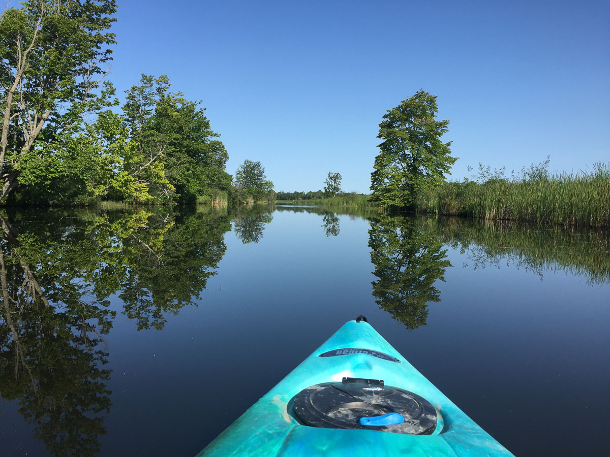 A UNESCO WORLD HERITAGE SITE on an Ottawa Road trip: Enjoy paddling the Tay Canal in Perth