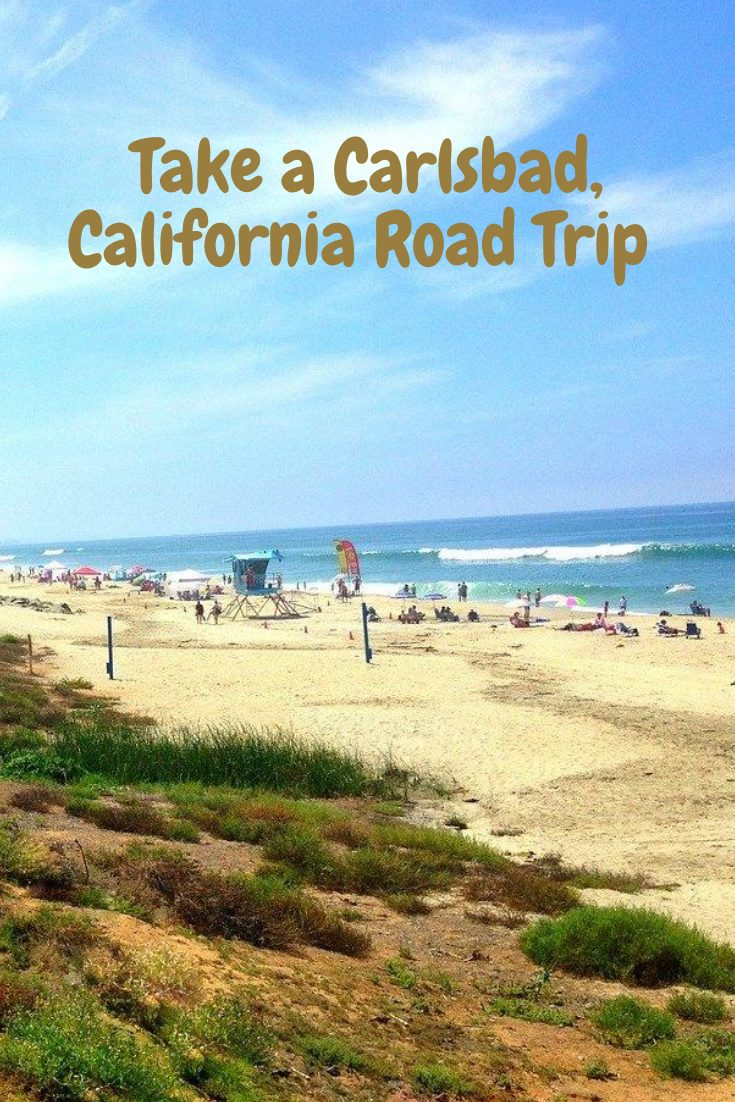 Carlsbad California Road Trip Pin