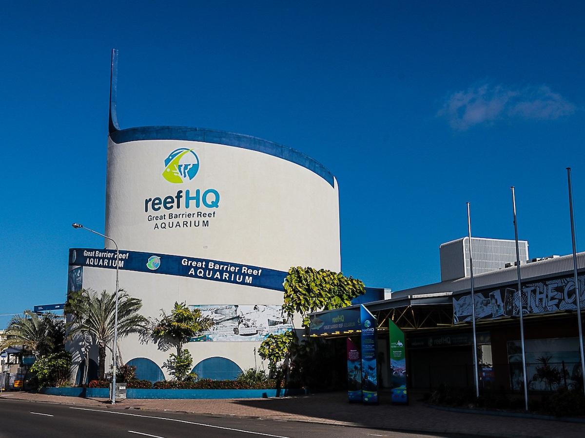 Headquarters of the Reef Aquarium