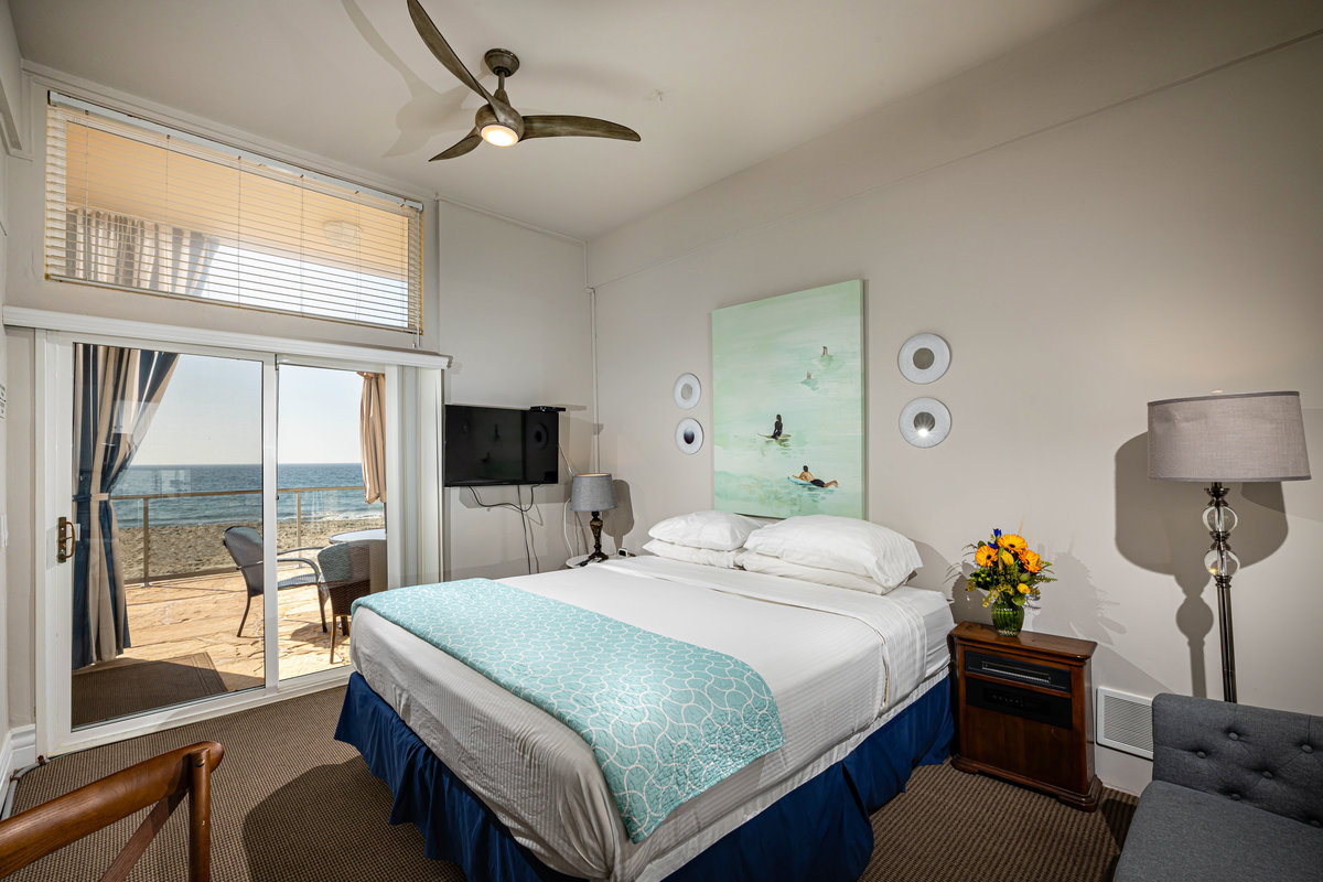 Bedroom at Seashore on the Sand