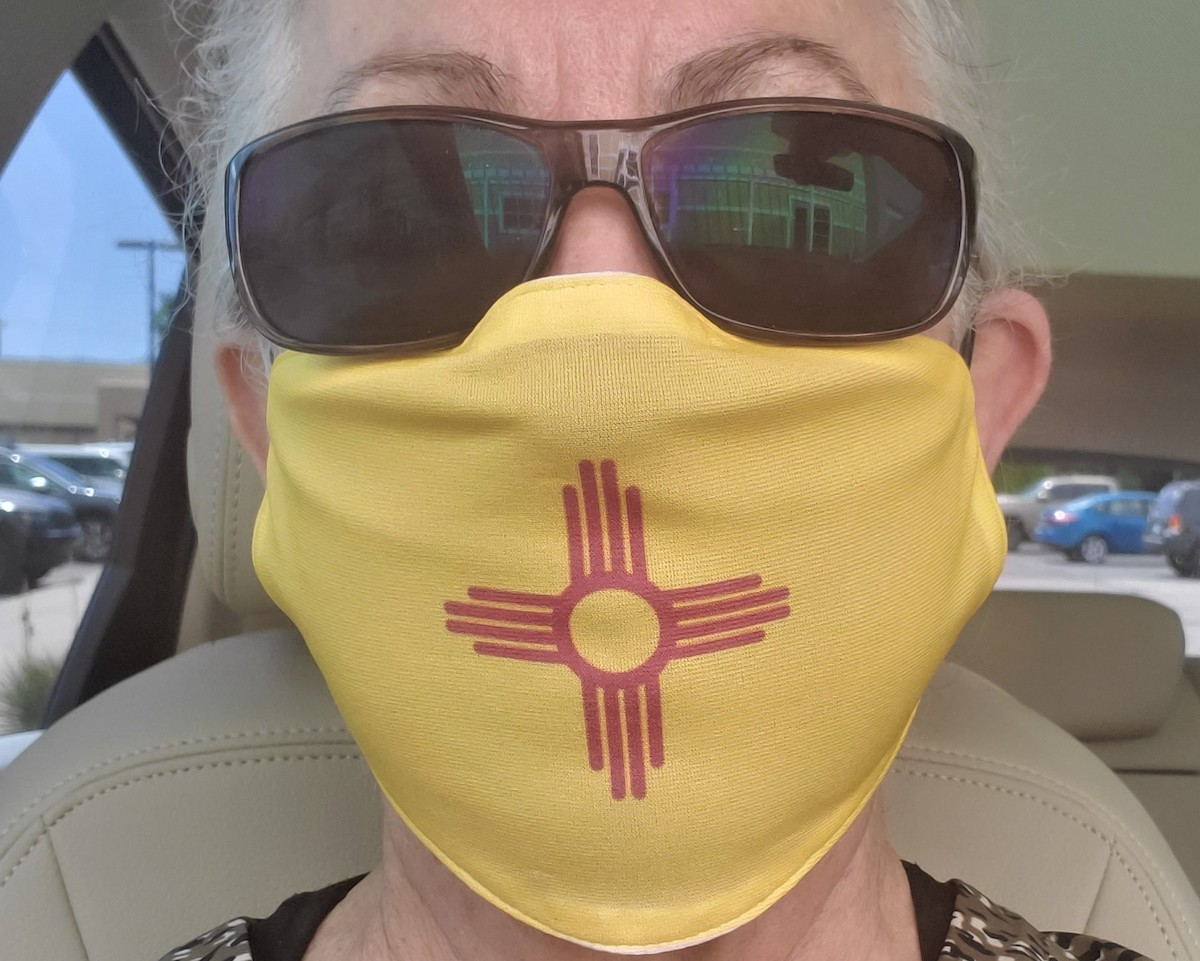 My New Mexico mask