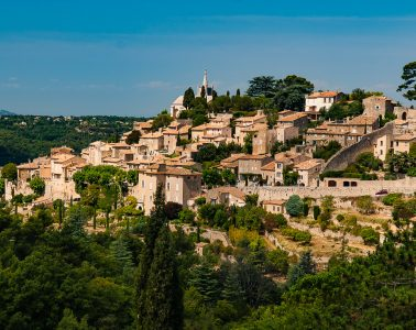 A sun-splashed village in the Luberon