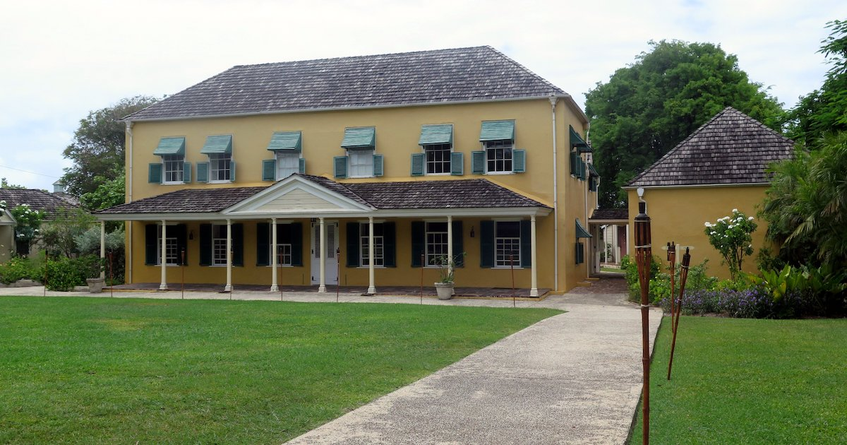 George Washington Slept Here: George Washington House, Barbados