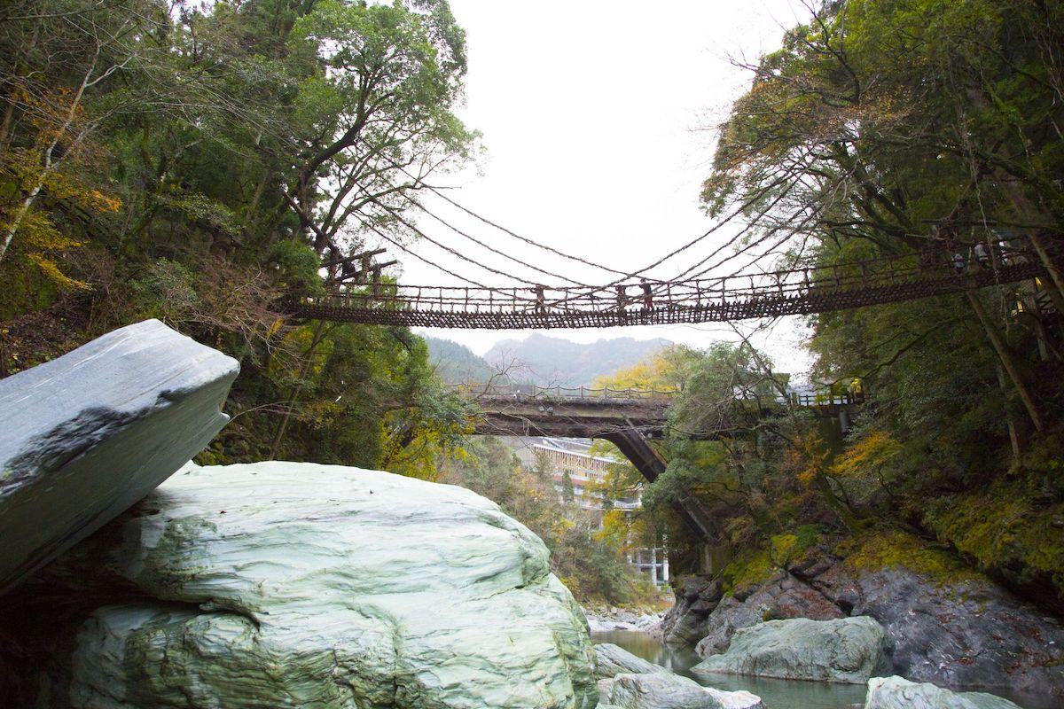 Kazurabashi Bridge (Credit: Japan National Tourist Organization)