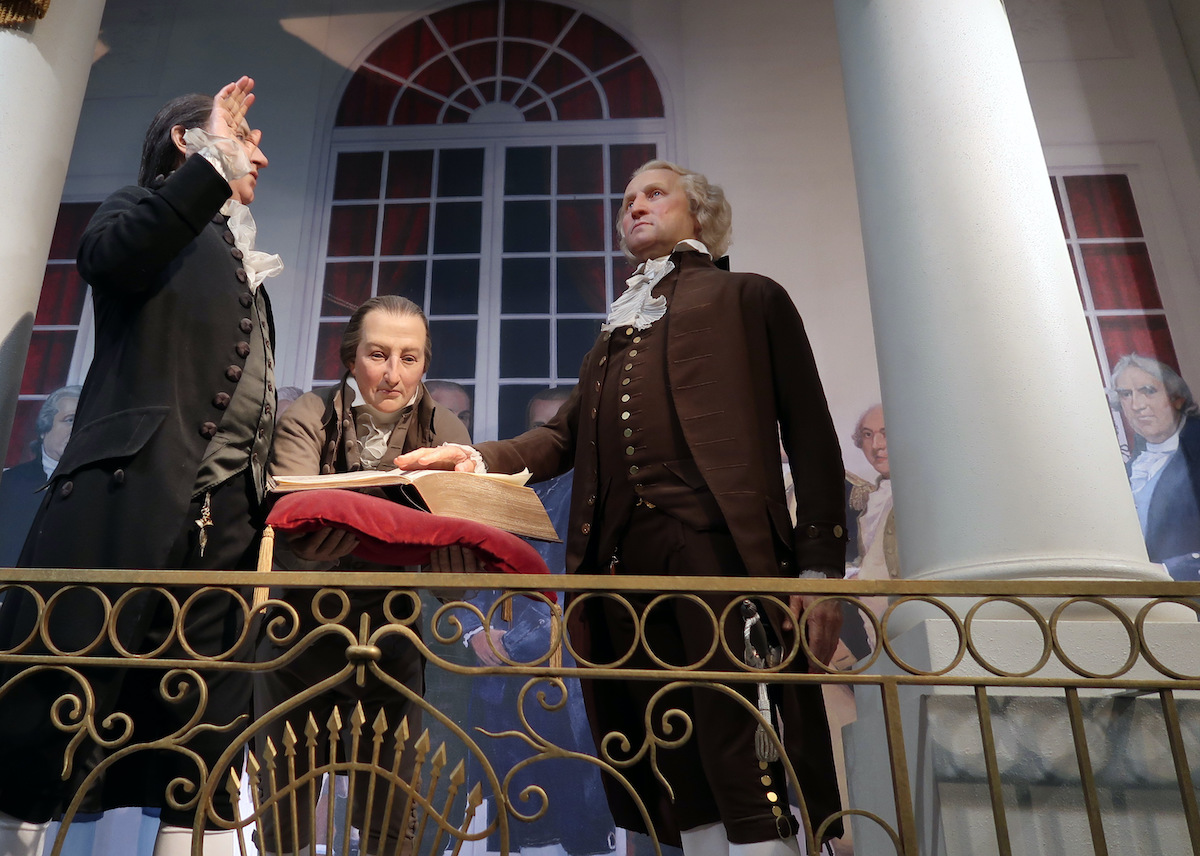 Mount Vernon's recreation of Washington's inauguration