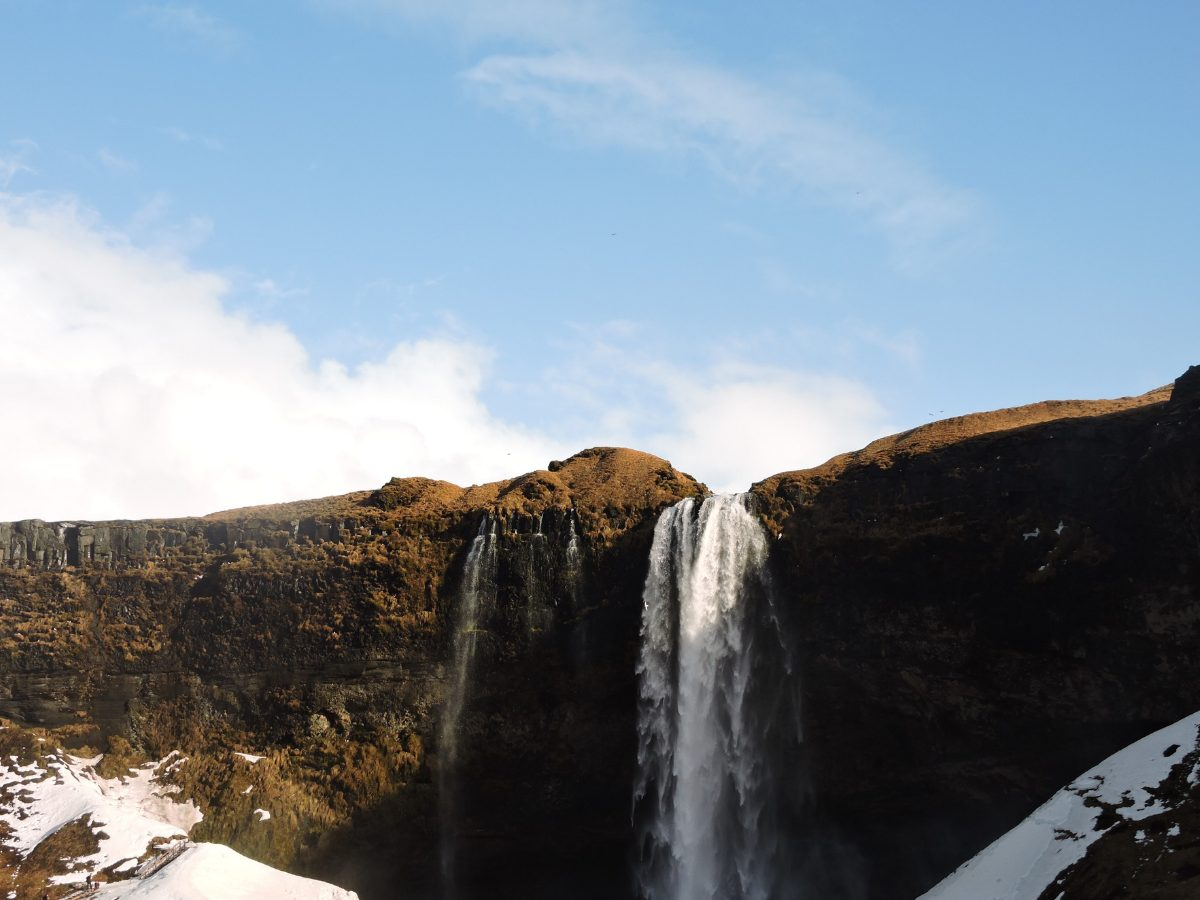 Places we can't wait to visit - Skógafoss in Skógar, Iceland. Credit: Sheila Berrios-Nazario