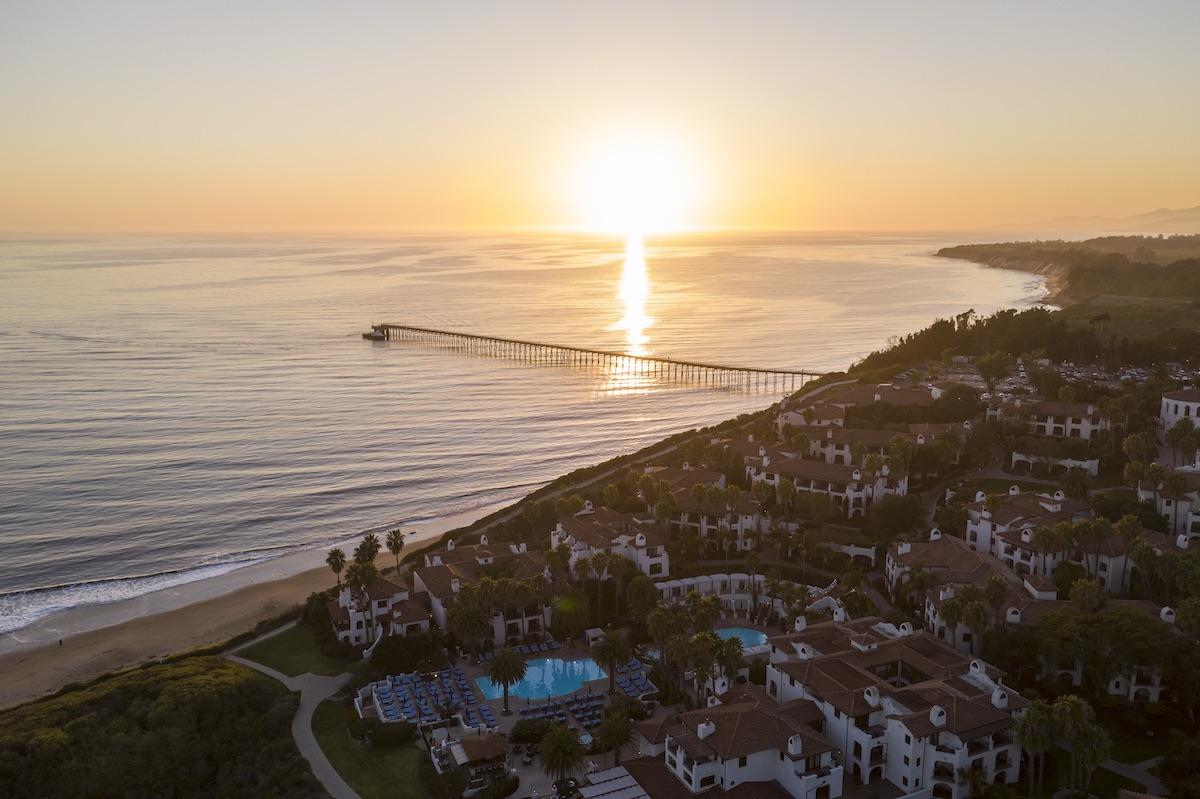 Can't wait to visit Santa Barbara: An aerial view of the Ritz-Carlton Bacara