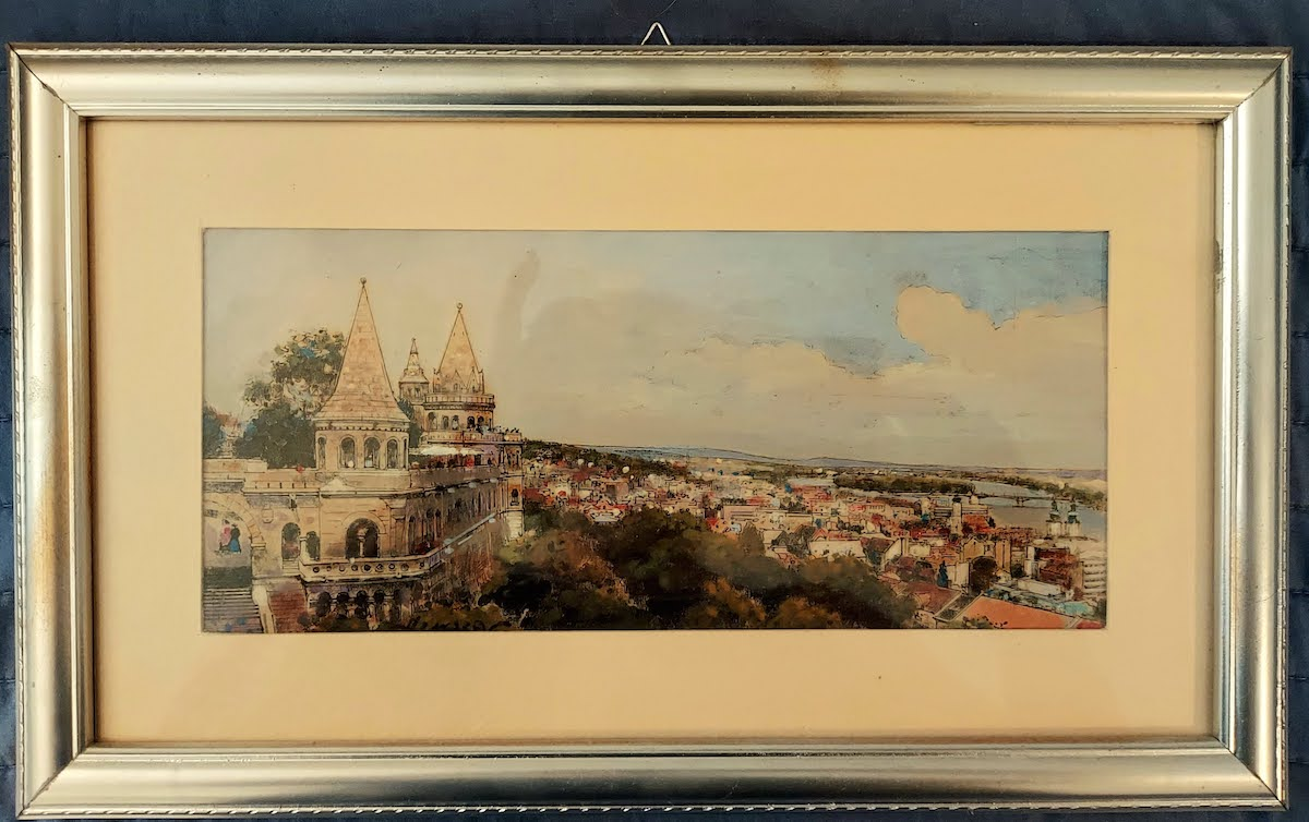 Fisherman's Bastion was built between 1895 and 1902 by Frigyes Schulek