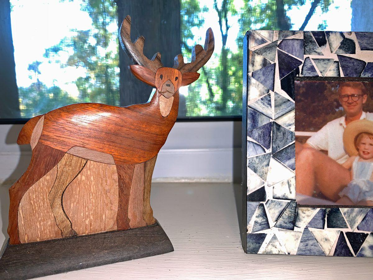 Wooden Deer from Quebec