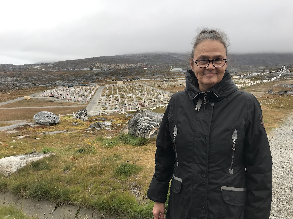 Explore Greenland with Nuuk guide Gitte Johnson