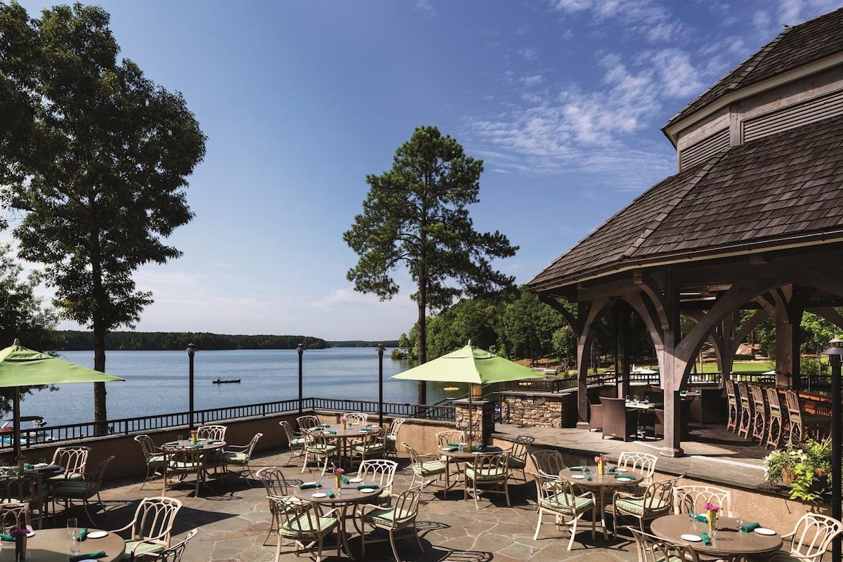 Terrace at Gaby's by the Lake (credit: Reynolds Lake Oconee)