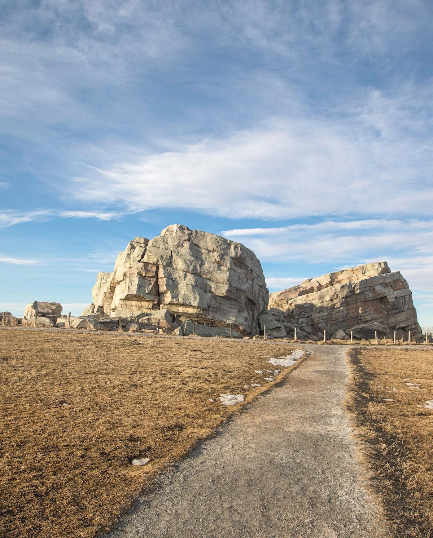 The 16,500 tonne Big Rock. Photo by Christina Ryan, courtesy Emons Verlag GmbH