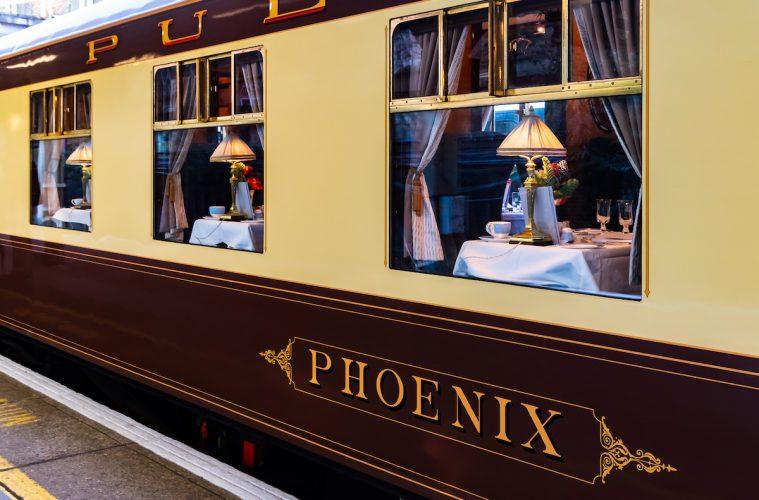 The iconic Belmond British Pullman Train (credit: Rose Palmer)