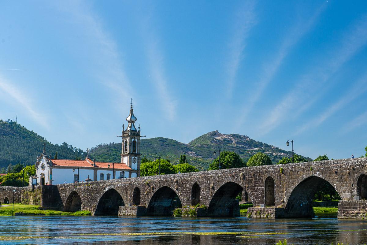 Ponte de Lima, a great base for exploring Portugal's vinho verde wine region, is Portugal's oldest chartered town
