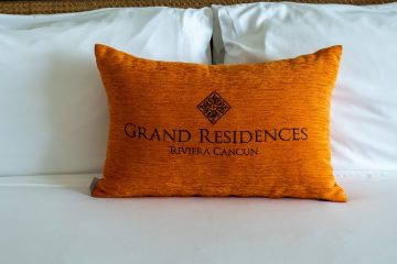 Pillow at Grand Residences Cancun