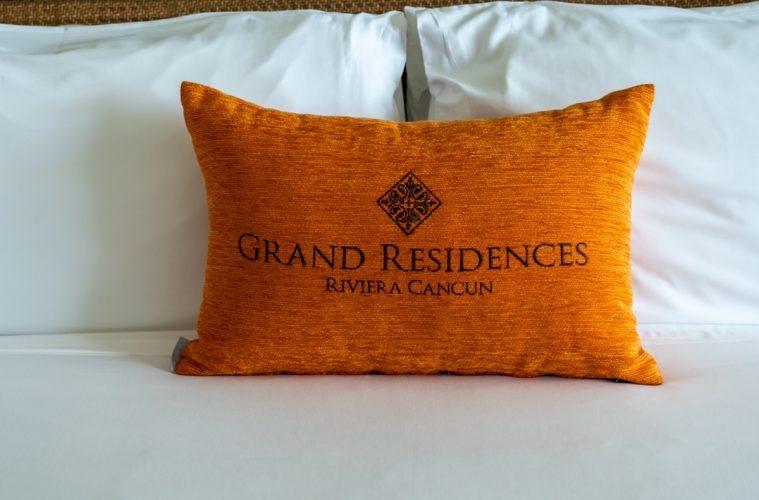Pillow at Grand Residences Cancun