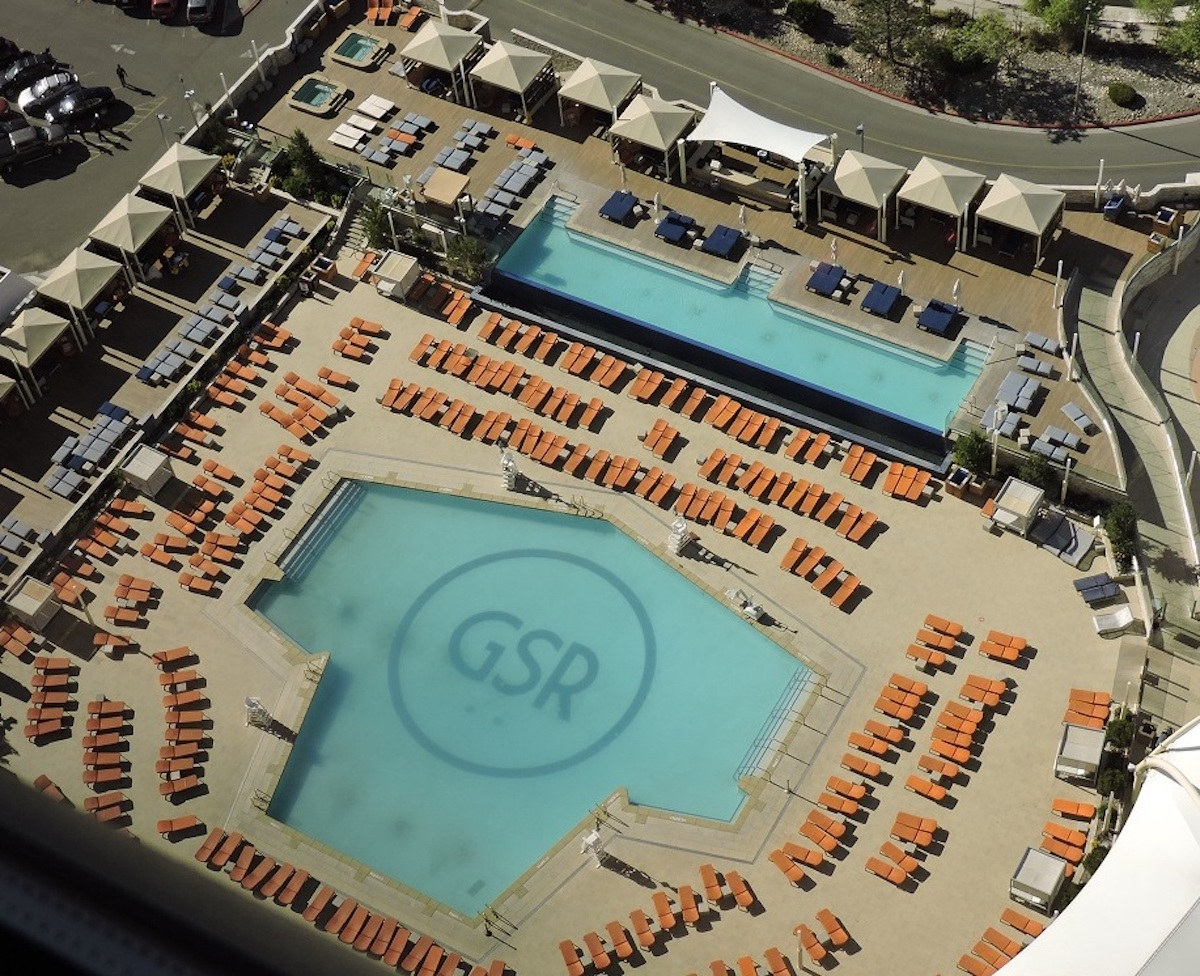 Pools at Grand Sierra Resort in Reno