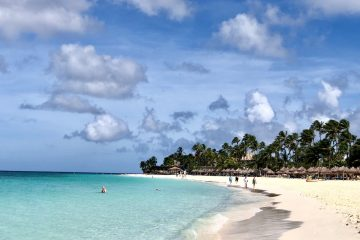 Sun, sand, turquoise waters of Aruba
