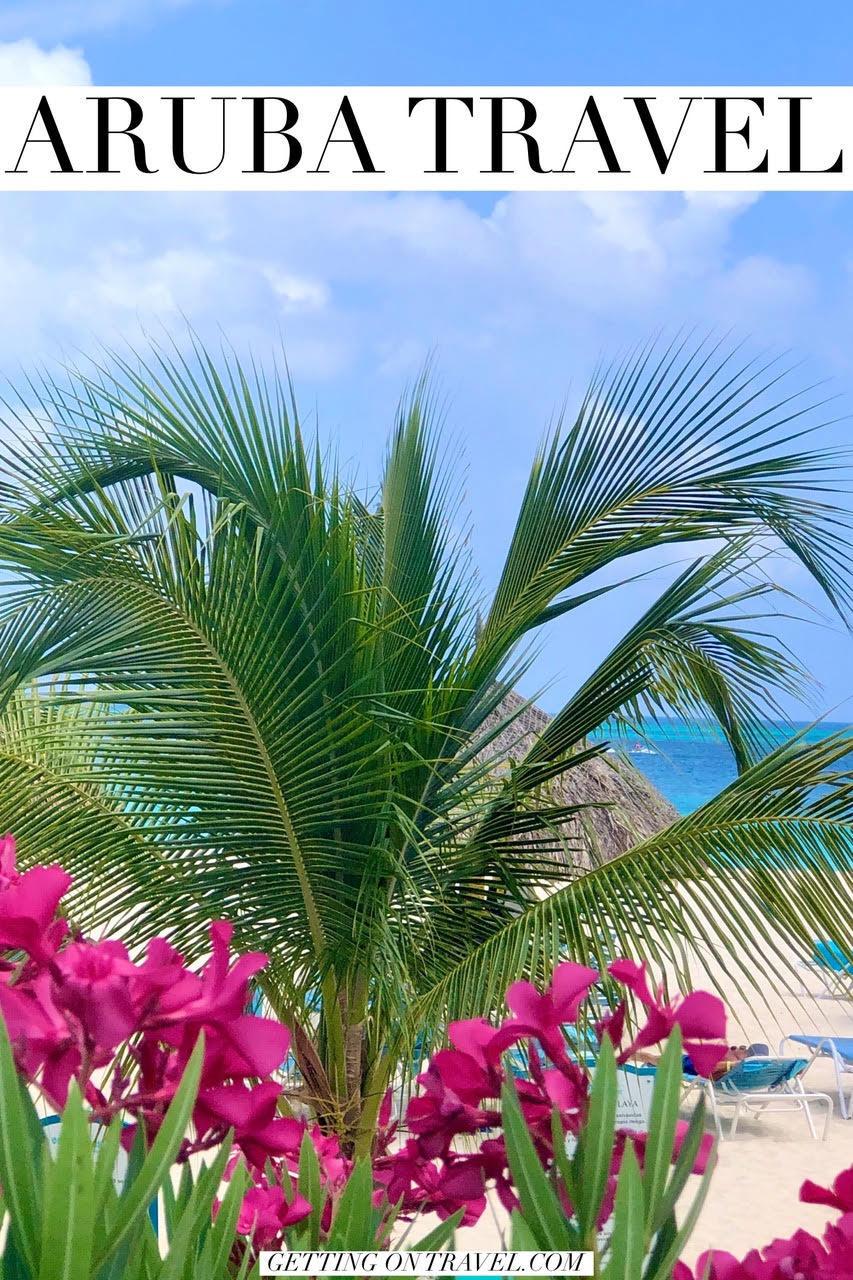Aruba travel pin