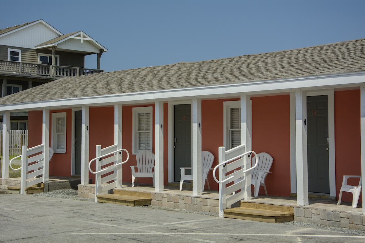 Exterior of the See Sea Motel (courtesy Village Realty Holdings)