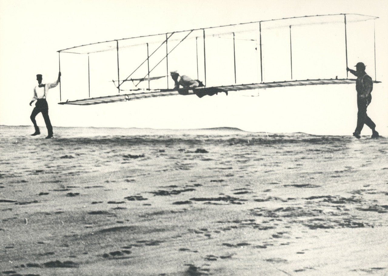 Kill Devil Hills was the site of the Wright Brothers first flight (credit: Pixabay)e