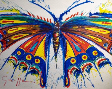 Painting by Francisco Grippa (credit: Karin Lepari)