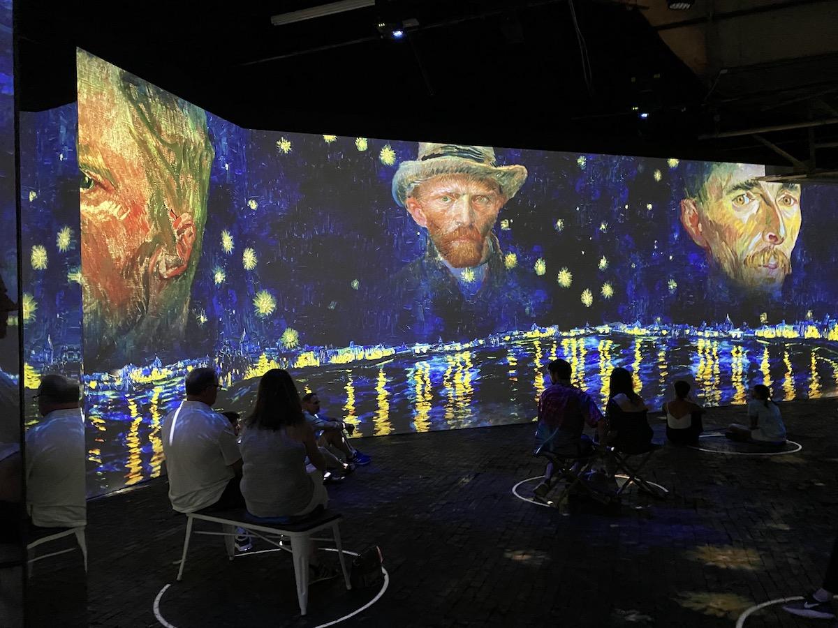 SELF-PORTRAIT at Immersive Van Gogh Charlottte