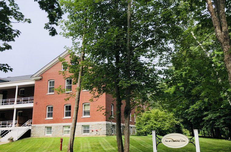 The Inn at Diamond Cove began life as a military barracks in Fort McKinley