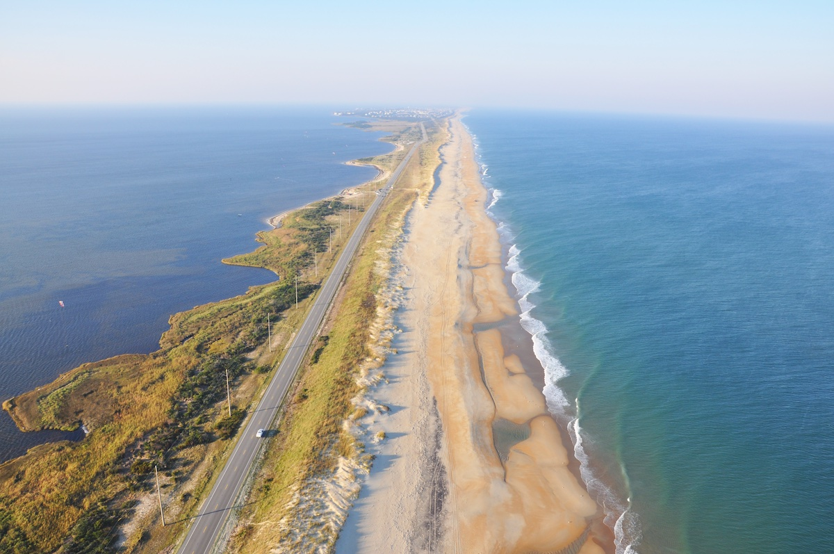 N.C. 12 is considered the gateway to the Outer Banks