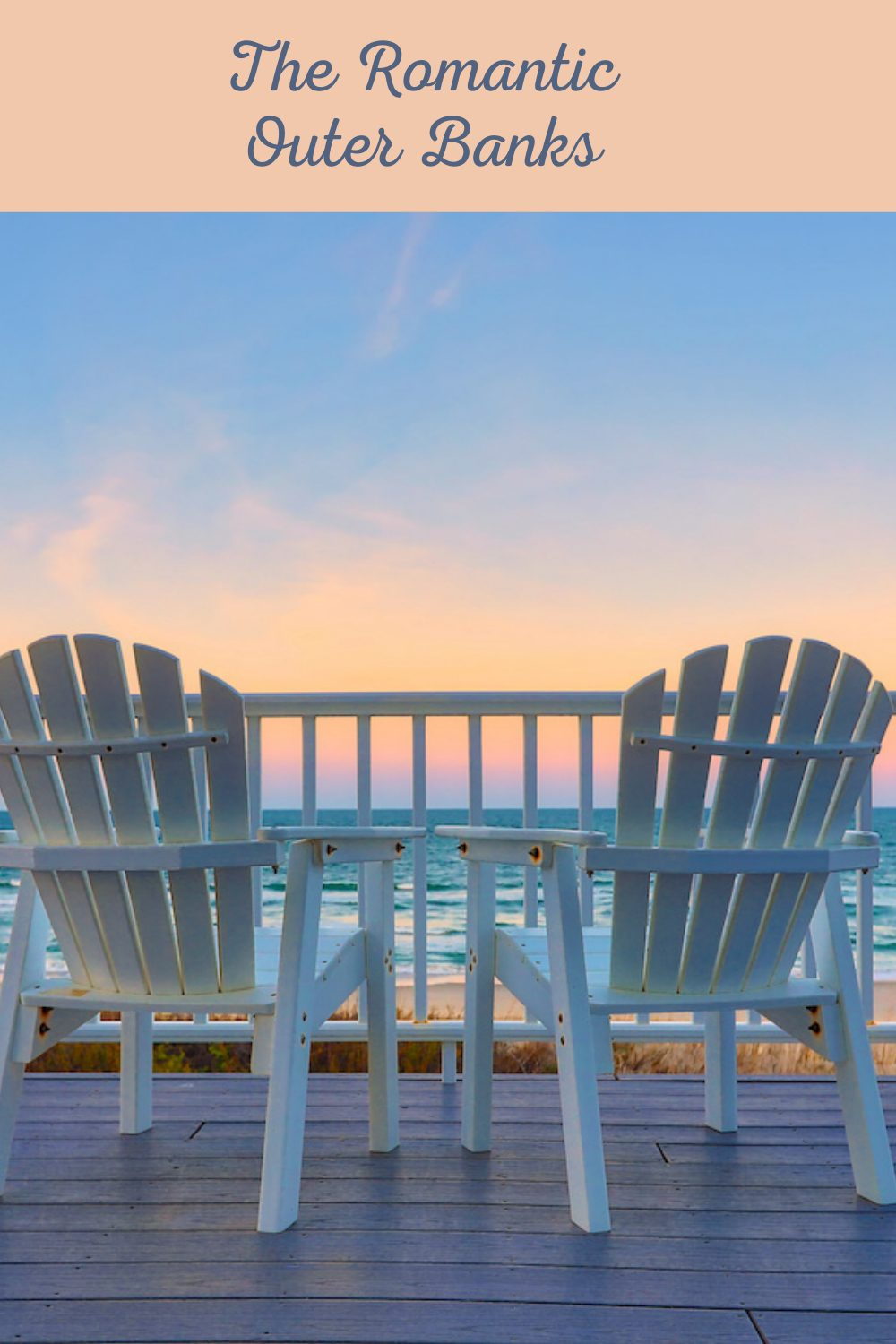 Romantic Outer Banks pin