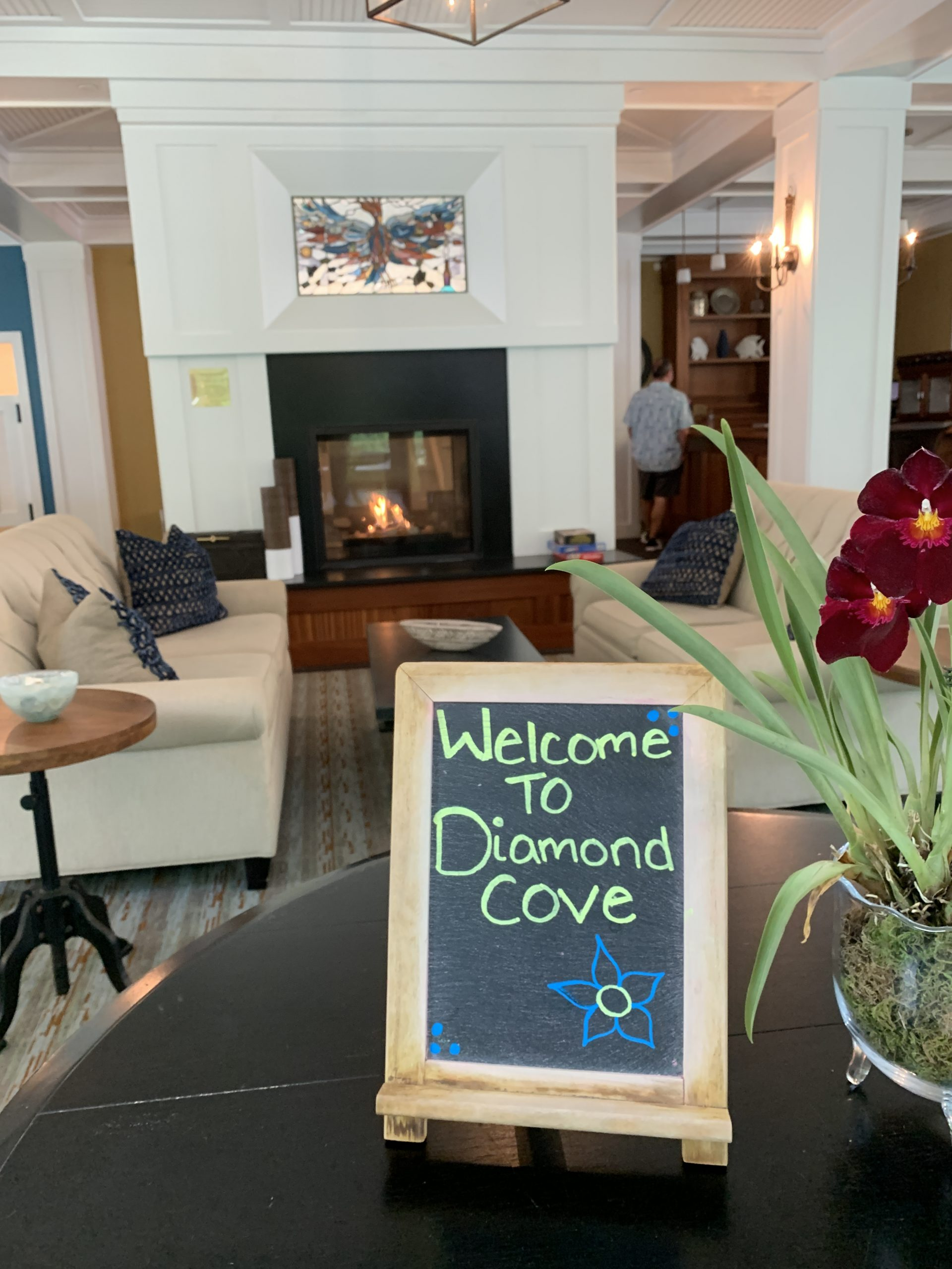 The Inn at Diamond Cove on Great Diamond Island, Maine, offers a perfect escape.