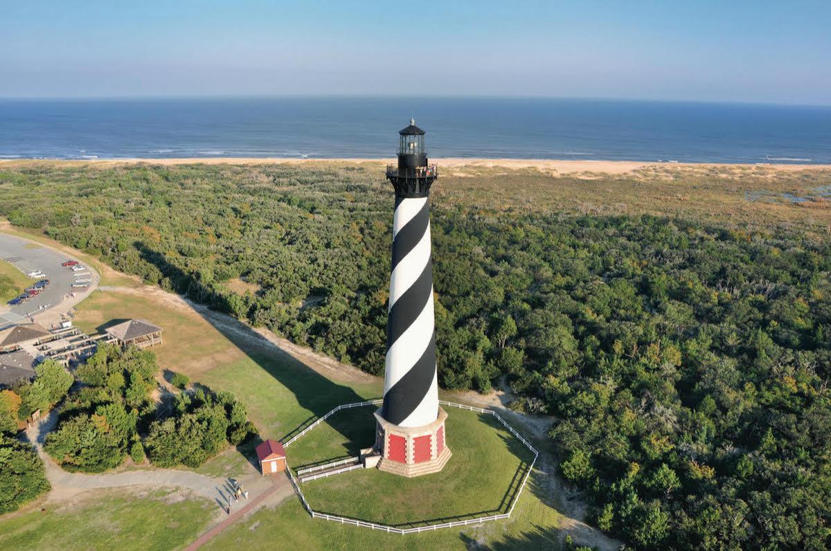Cape Hattaras Lighthouse at North Carolina Outer Banks