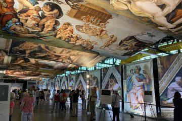 Michelangelo's Sistine Chapel as viewed in Charlotte, North Carolina