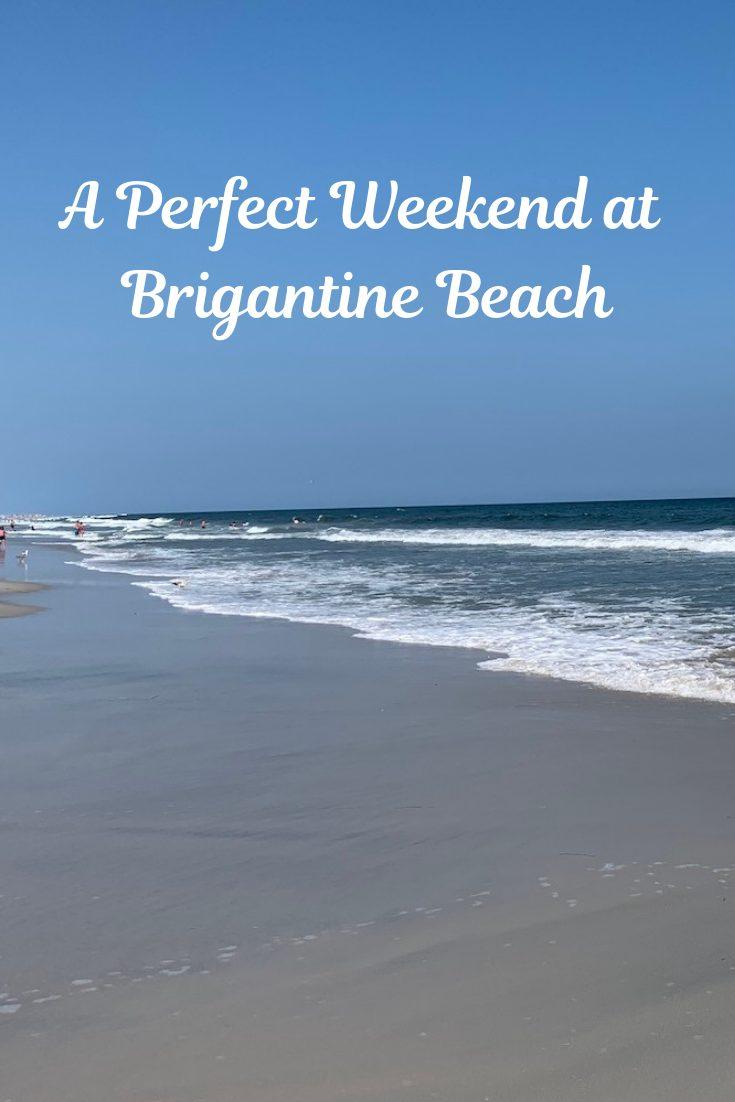 Weekend at Brigantine Beach pin