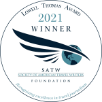 2021 Lowell Thomas Award to Getting on Travel